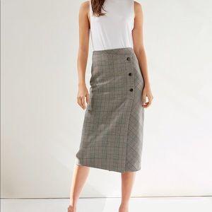 Aritzia babaton billy midi pencil skirt size 0